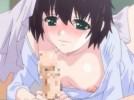 【エロアニメ】 お兄ちゃんチンポの味にハマった妹が寝ているお兄ちゃんに朝フェラして朝立ちチンポの性欲処理をお手伝い ※音量小さめ
