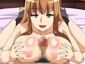 【エロアニメ】 爆乳お姉ちゃんにパイズリ童貞奪われてマシュマロおっぱいにチンポの臭い染みつかせちゃうw