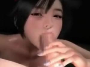 【3Dエロアニメ】 巨乳美少女教え子にちんぐり騎乗位セックスでオチンポ逆レイプされて中出し射精