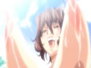【エロアニメ】 勃起乳首いじめられながらオマンコ輪姦されてアヘイキする爆乳垂れ乳熟女