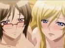 【エロアニメ】 二人の巨乳美女に朝っぱらから襲われる逆レイプ3Pセックス