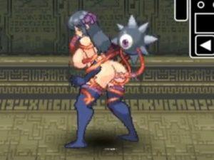 【エロアニメ】 触手モンスターに犯されて絶頂する巨乳くノ一