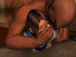 【3Dエロアニメ】 少女たちを中出しレイプで調教してオチンポご奉仕させる鬼畜男