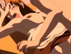 【エロアニメ】 借金返済のためにメイドコスプレで鬼畜ご主人様に処女を捧げる美少女