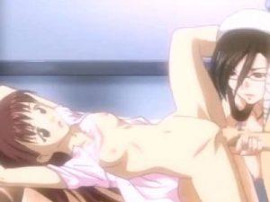 【エロアニメ】 少年にちっぱい美少女を処女レイプさせて愉しんでた変態痴女ナースが悪行バレて輪姦中出しレイプでお仕置きされちゃうw