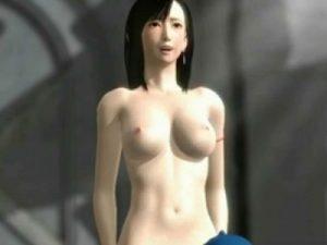 【3Dエロアニメ】 オチンポ大好きになったFFティファがオチンポおねだりして自分から腰振り騎上位セックスで感じちゃうw