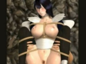 【3Dエロアニメ】 緊縛拘束セックスでSM調教されるサムライスピリッツのいろは
