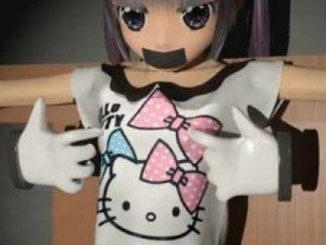 【3Dエロアニメ】 ちっぱいツインテ美少女を拘束くすぐり拷問責めして乳首クリクリいじめちゃうw
