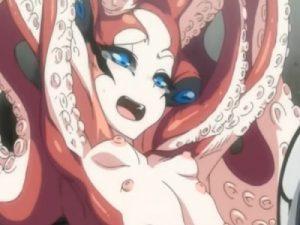 【エロアニメ】 人外タコ娘の吸盤乳首責めて拘束中出し調教レイプでキツキツ処女オマンコ犯してアヘらせちゃうw