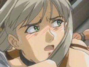 【エロアニメ】 鬼畜男の性奴隷にされてアナルにオシッコされるお姫様