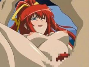 【エロアニメ】 イケメンに見えるようにポニテ美少女に催眠かけて処女オマンコを騙しハメ潮吹きセックス