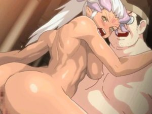 【エロアニメ】 時間停止させて魔族の美女に中出しレイプしたり魔物とセックスさせる鬼畜キモデブ勇者