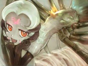【エロアニメ】 蜘蛛のモンスター娘に敗北逆レイプされて捕食されちゃうw