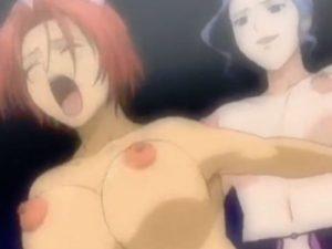 【エロアニメ】 ふたなり女医にアナル中出しレイプされる美少女ナース&お姉ちゃんにレズクンニされちゃうツインテナース