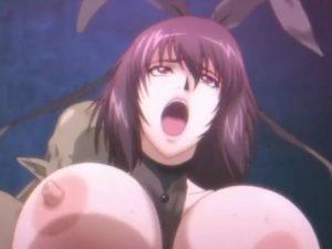 【エロアニメ】 媚薬で強制発情したオマンコを中出しレイプされる爆乳美女