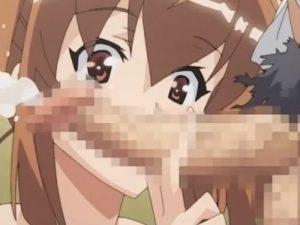【エロアニメ】 ツインテ妹が夜の公衆トイレでオッサンとセックスしてる様子を盗み聞きしちゃうお兄ちゃん