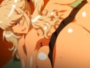 【エロアニメ】 金髪褐色ギャルな爆乳お姉ちゃんに筆下ろしセックスしてもらって中出し射精