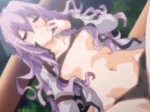 【エロアニメ】 酔っ払った女友達と夜の公園で青姦処女セックス