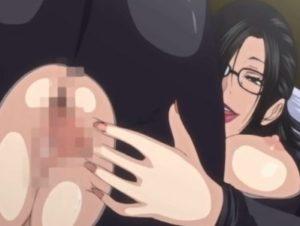 【エロアニメ】 ピチピチのラバースーツ着た爆乳女教師が美少年教え子を調教したつもりが立場逆転の連続アクメして危険日マンコに中出しされちゃうw