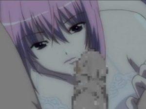 【エロアニメ】 下着姿で迫ってきた人妻先輩にフェラされ逆レイプセックス